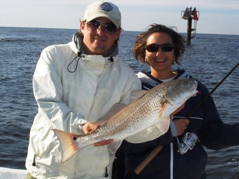 Redfish fishing charters near orange beach alabama gulf for Fishing in mobile al
