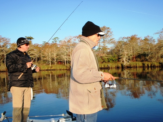 December 2009 inshore fishing forecast for alabama gulf for Trout fishing in alabama