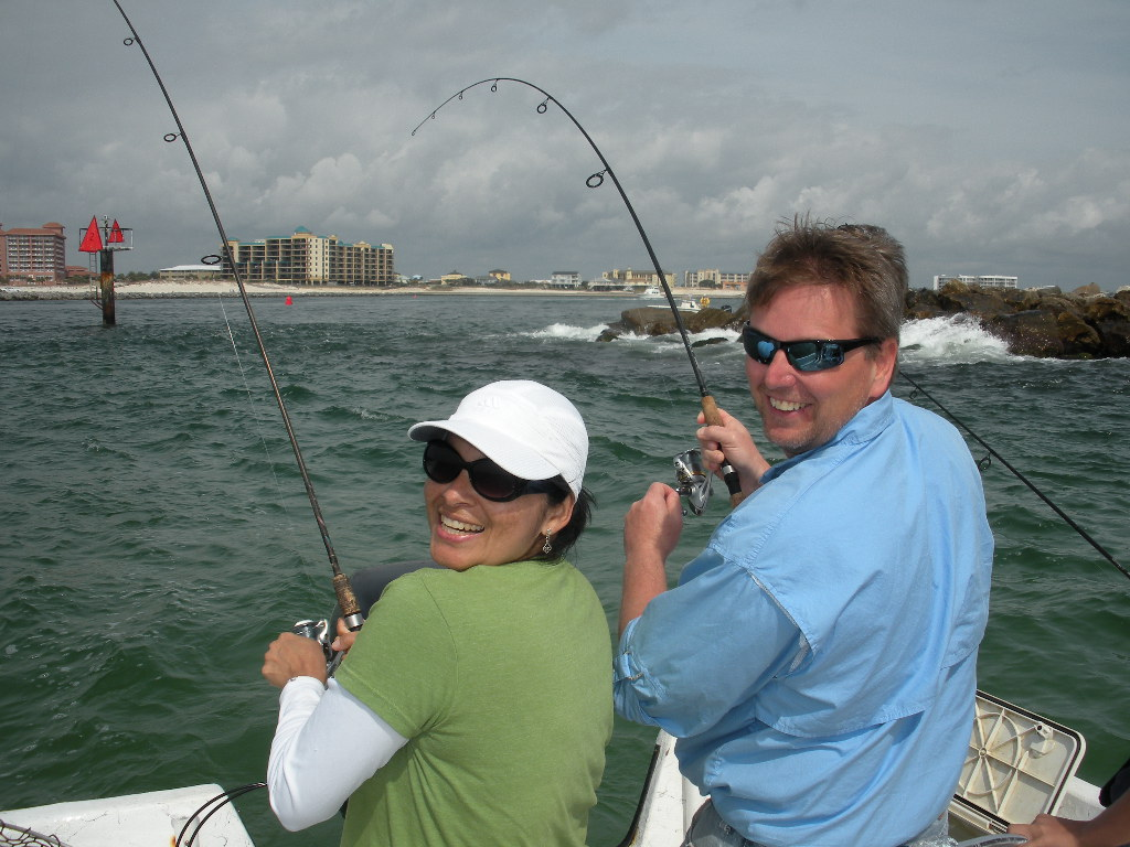 Alabama inshore light tackle fishing in orange beach gulf for Fishing orange beach al